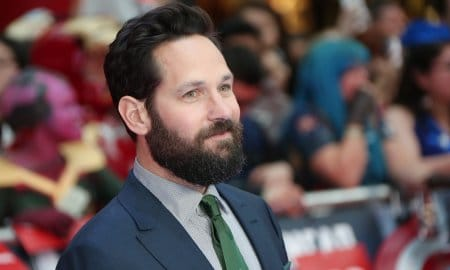 Paul Rudd Attends European Film Premiere