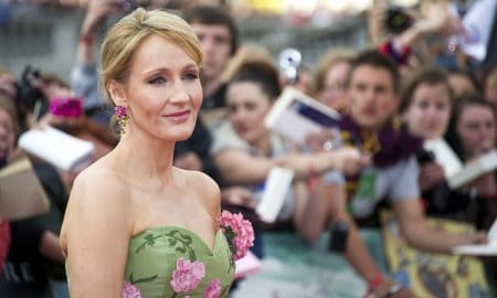 Jk Rowling Arriving World Premiere Harry