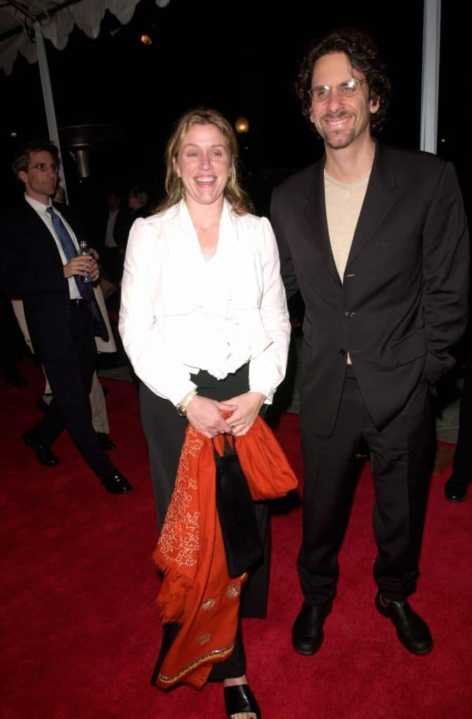 22feb2000 Actress Frances Mcdormand Husband Joel