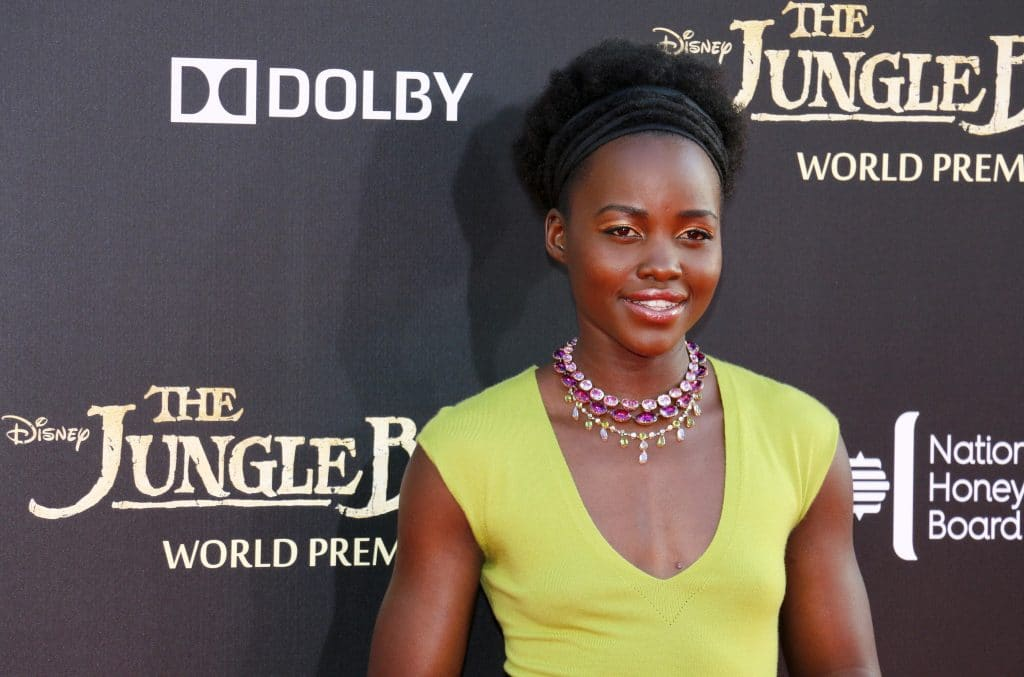 Lupita Nyongo Los Angeles Premiere The