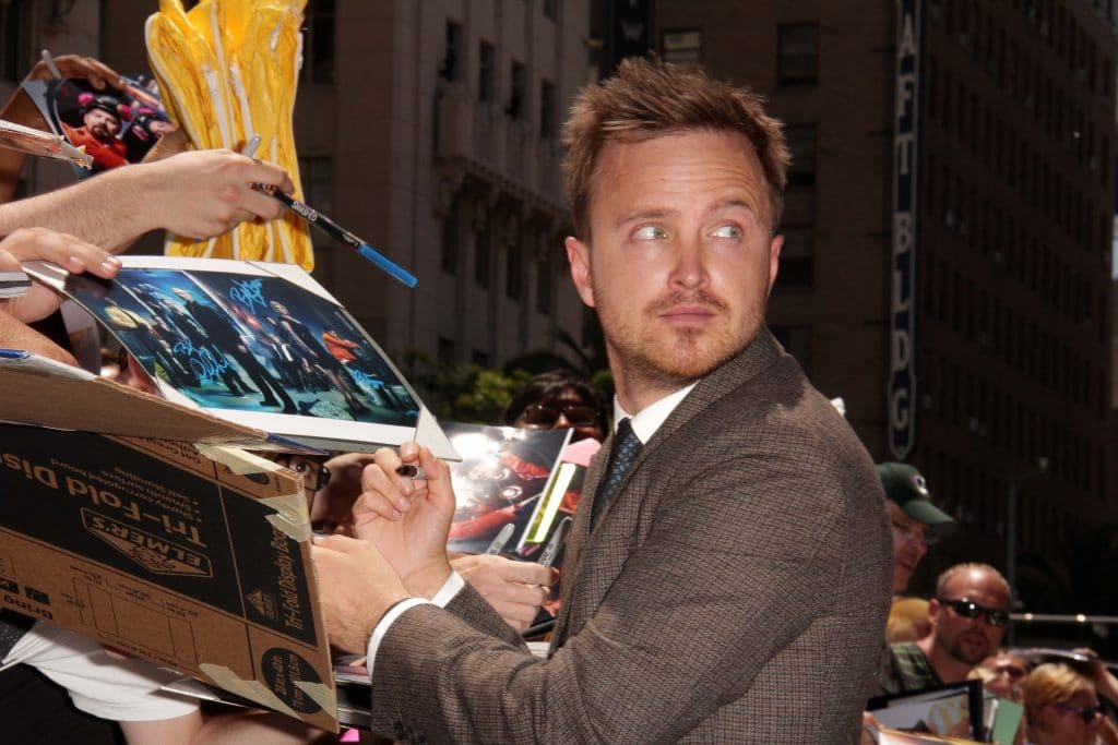 Aaron Paul Bryan Cranston Star On