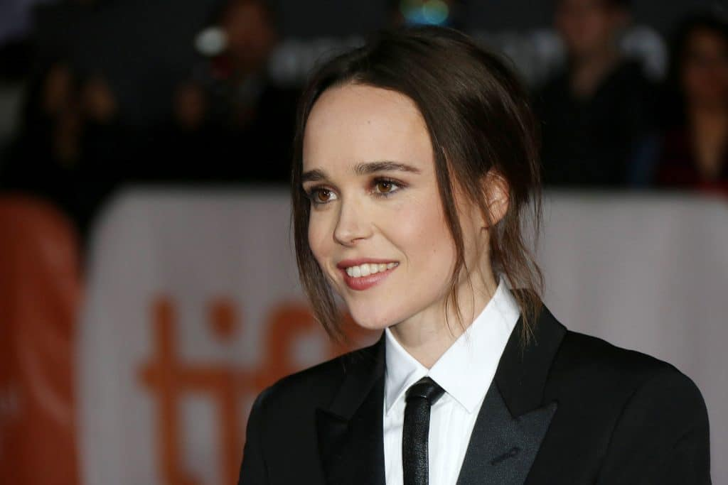 Actress Ellen Page Attends Freeheld Premiere