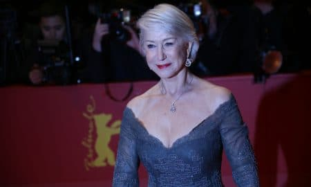 Helen Mirren Attends Opening Ceremony Isle