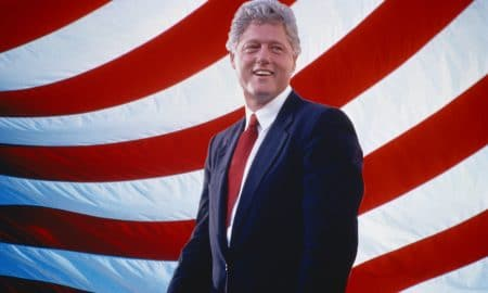 President William Jefferson Clinton Front American