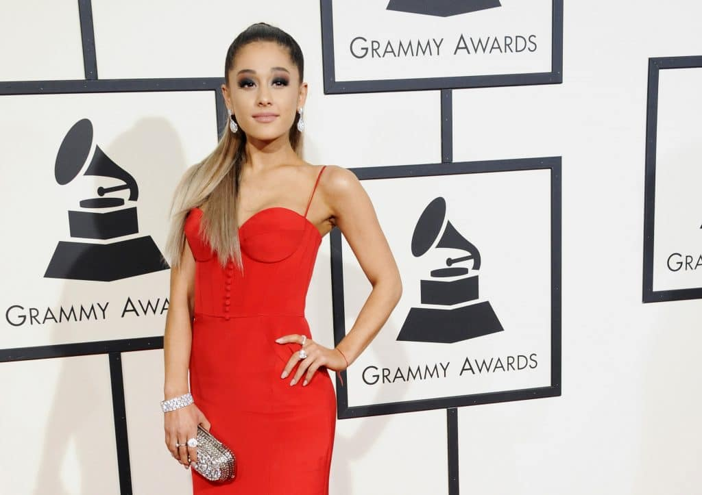 Ariana Grande 58th Grammy Awards Held