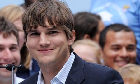 Ashton Kutcher Press Conference Entertainment Industry