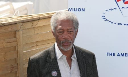 Cannes France May 18 Morgan Freeman