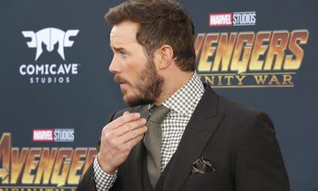 Chris Pratt Premiere Disney Marvels Avengers