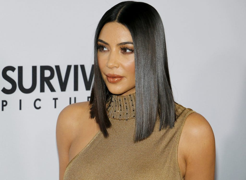 Kim Kardashian West Los Angeles Premiere