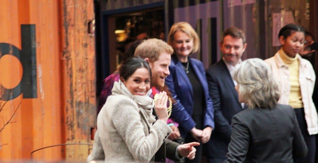 Meghan Markle Prince Harry London Uk