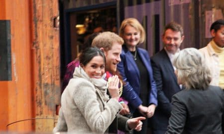 Meghan Markle Prince Harry London Uk