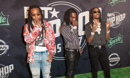 Migos Attends 2017 Bet Hiphop Awards