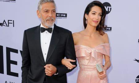 George Clooney Amal Clooney AF Is 46th