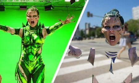 Amazing Before & After Hollywood VFX Power Rangers