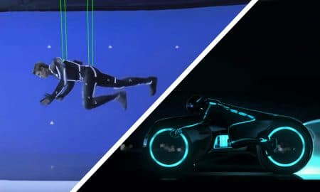 Amazing Before & After Hollywood VFX Tron Legacy